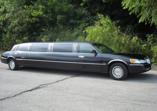 Black Limousine (Exterior, Passenger's Side)