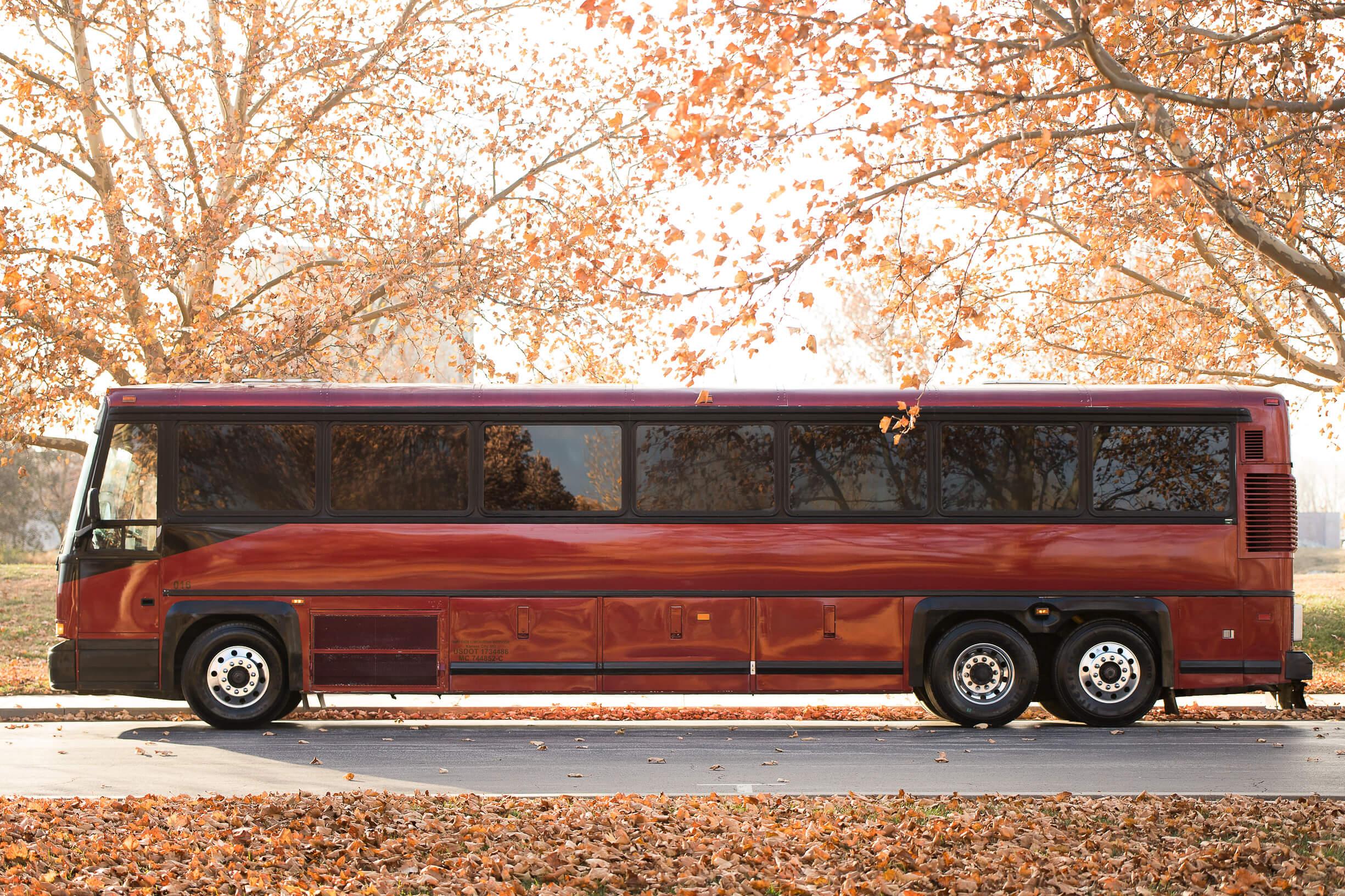 Ambassador Bus, exterior, side view